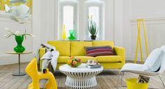 Decoración de Salas en Color Amarillo - Para Más Información Ingresa en: http://fotosdesalas.com/decoracion-de-salas-en-color-amarillo/