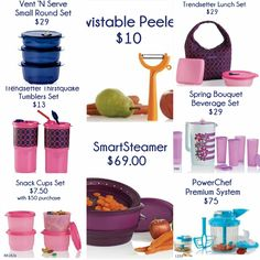 Check out these Sales going on now Spring Bouquet, Cupping Set, Tupperware, Beverages, Snacks, Check, Products, Tapas Food, Appetizers