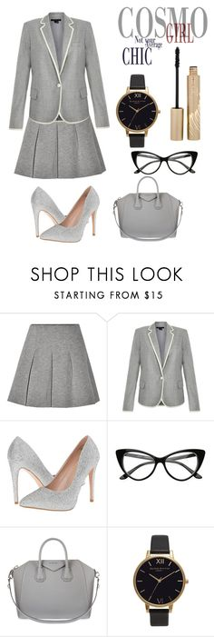 """""""Working girl"""" by mexarchopoulou ❤ liked on Polyvore featuring T By Alexander Wang, Theory, Lauren Lorraine, Givenchy, Olivia Burton and Stila"""