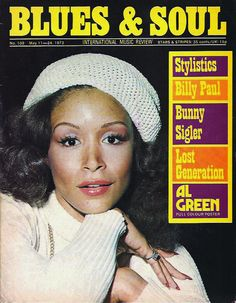 Blues & Soul: Freda Payne, May 1973 Vintage Black Glamour, Vintage Beauty, Freda Payne, Al Green, Black Magazine, Soul Train, Old School Music, R&b Soul, Sweet Soul