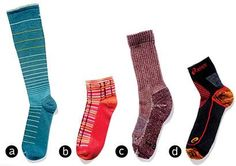 Warm, comfy socks for fall/winter hiking! Goodhew/Sockwell named best hiking sock by Prevention Magazine.