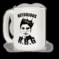 Notorious R.B.G. Mug