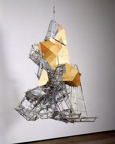 "Lee Bul, ""Untitled sculpture W1,"" 2010, stainless steel, aluminum, mirror, wood, polyurethane sheet, glass beads, acrylic mirror"