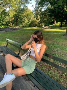 Photo Pour Instagram, Mode Outfits, Fashion Outfits, Summer Aesthetic, Aesthetic Green, Mode Vintage, Mode Inspiration, Looks Cool, Cute Casual Outfits