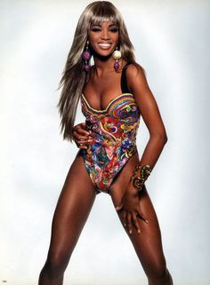 Naomi Campbell for Gianni Versace