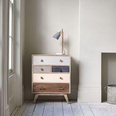 mango wood furniture storage keira chest of drawers