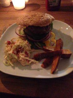 Healthy burger :-)