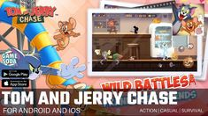 Tom and Jerry Chase by NetEase Games | Gameplay for Android and iOS | 1v4 Casual | Gamesoda - YouTube Free Mobile Games, Tom And Jerry, Google Play, Ios, Survival, Android, Action, Casual, Youtube