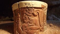 Maya-prince-cup-from-Uxul,Calakmul Campeche Mexico