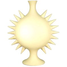 """Le Soleil"" Vase Signed by ""Les Heritiers,"" 1993 