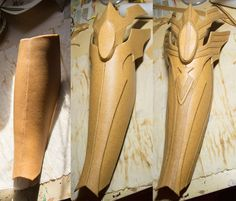Making armor for cosplay.. Technique could be used for other fabrications.