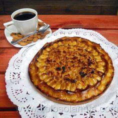 tarta de almendra fácil receta casera paso a paso  http://www.golosolandia.com/2013/10/tarta-de-almendra.html