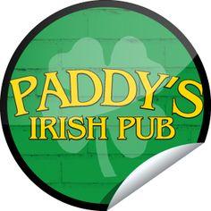 ORIGINALS BY ITALIA's Paddy's Pub Patron Sticker | GetGlue