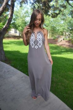 In Your Favor Maxi Dress