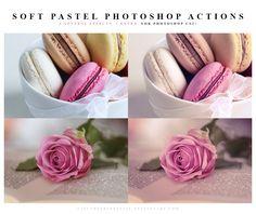 Photoshop Soft pastel Actions by lieveheersbeestje on @DeviantArt