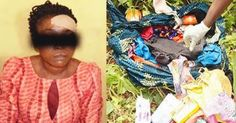 Welcome to NewsDirect411: Lady Escaped From Ritual Killers Den In Ogun State...