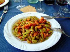 Malloreddusu. Typical Sardinian Pasta