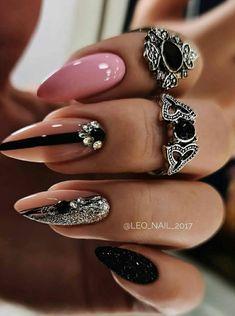 Bling Acrylic Nails, Best Acrylic Nails, Rhinestone Nails, Nude Nails, Diy Nails, Subtle Nail Art, Diy Nail Designs, Bridal Nails, Fabulous Nails