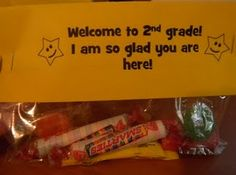 Welcome gifts for 1st day