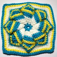 Free Crochet Patterns: Free Crochet Granny Square Motif Patterns, haken, gratis patroon,