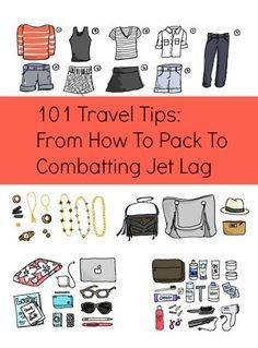 Pre-trip must-read! Packing & jet lag