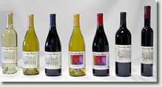 The wines of Fawnridge Winery, Auburn, Placer County, California