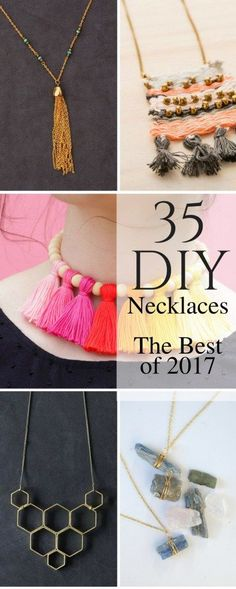 35 of the Best DIY Necklaces in 2017 You Can Make Yourself