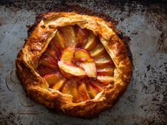 Freeform Peach Pie (Galette) RecipeReally nice recipes. Every  Mein Blog: Alles rund um Genuss & Geschmack  Kochen Backen Braten Vorspeisen Mains & Desserts!