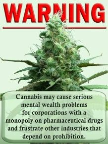 Number one reason why cannabis, marijuana and hemp are illegal. However, on October 7, 2003 The United States Government as represented by the Department of Health and Human Services was granted a U.S. Patent (#6630507) on any and all uses and applications of: Cannabinoids as antioxidants and neuroprotectants. - See more at: http://www.weedsthatplease.com/repealcannabislaw.htm#sthash.mWh5tSlv.dpuf