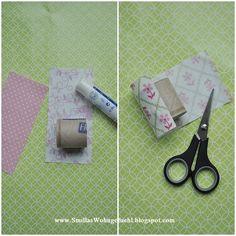 tischdeko serviettenringe aus alten klopapierrollen party servietten pinterest. Black Bedroom Furniture Sets. Home Design Ideas
