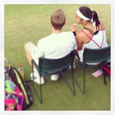 Heather Watson jonny marray #wimbledon2013 #tennis