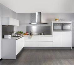 Bekijk de foto van juliokw met als titel greeploze L-hoek keuken en andere inspirerende plaatjes op Welke.nl.
