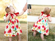 A quick little tutorial and links to others for this little dress from makeit-loveit.com