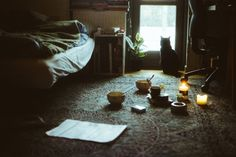 The room of a healing witch