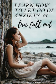 """#Anxiety can often be our greatest enemy. However, the choice is within you to adjust your mindset and embrace #positivity. Nancy recently said on her show, """"when you nurture more hopeful, positive thoughts, you'll be able to achieve your #goals as you live full out."""" Visit livingfullout.com/news/ and look for the title """"Learn How By Letting Life Unfold, You Are Able to Embrace Living Full Out"""". Share this pin with someone you care about as a reminder for him/her to #worry less #lfo #quote"""