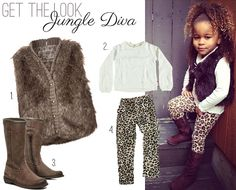 Get the look: Jungle Diva