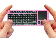 FAVI Entertainment Mini Wireless Keyboard with Touchpad