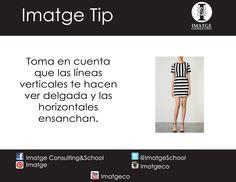 Utiliza a tu favor las líneas verticales y horizontales.