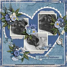 The Digichick :: Collections :: Winter Blues Bundle