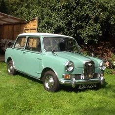 Wolseley Hornet (1963) Maintenance/restoration of old/vintage vehicles: the material for new cogs/casters/gears/pads could be cast polyamide which I (Cast polyamide) can produce. My contact: tatjana.alic@windowslive.com