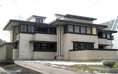 Oscar Balch House (1911) by Frank Lloyd Wright