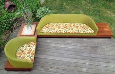 RARE Adrian Pearsall Cloud Sofa Chair Platform Mid Century Modern Sculptural