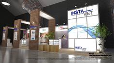 Modular Exhibition Stands by HOTT3D