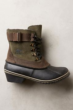 Sorel Winter Fancy Lace II Boots #anthrofave #anthroregistry