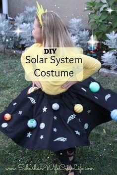 DIY- Solar System Costume