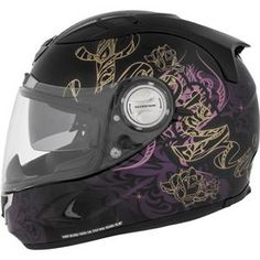 Usually not a fan of motorcycle gear that's JUST for ladies, but Scorpion has some pretty cool stuff...    Scorpion Women's EXO-1100 Preciosa Helmet  $299.95