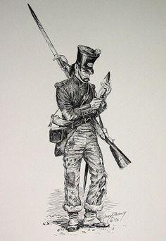 Mexican Army 1820's - 1830's Cazadore