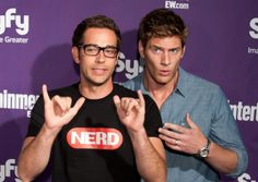 Celebs at the Entertainment Weekly/Syfy Comic-Con party