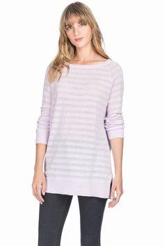 Lilla P: Sweater: 3/4 Sleeve Boatneck - PA0332