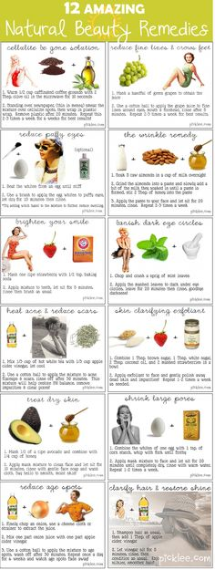 12 Astonishing Natural Beauty Remedies